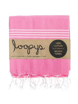 Bubblegum Pink Turkish Beach Towel