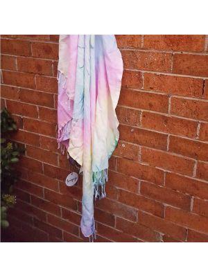 Festival Tie Dye Turkish Towel
