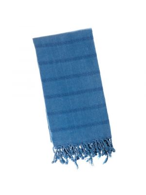 Ink Blue Stonewash Turkish Towel