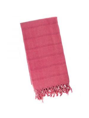 Crimson Pink Stonewash Turkish Towel