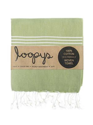 Khaki Turkish Beach Towel