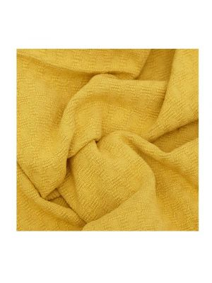 Mustard Honeycomb Stonewash Turkish Towel