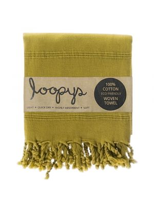 Olive Stone wash Turkish Towel
