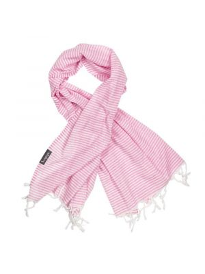 Super Light Pink Striped Turkish Towel