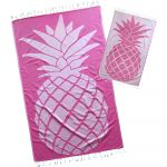PINK PINEAPPLE TURKISH BEACH TOWEL