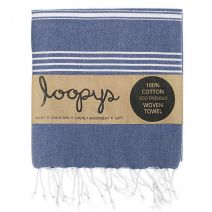 Loopys Navy Turkish Towel