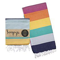 Rainbow Candy Stripe Turkish Towel