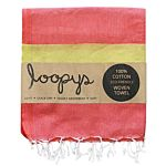 Sherbet/ Neon Candy Stripe Turkish Towel