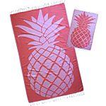 Sherbet Pineapple Design Turkish Towel