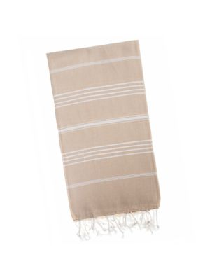 Beluga Beige Original Turkish Towel