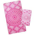 Pink Lemonade Aztec Tribal Turkish Towel