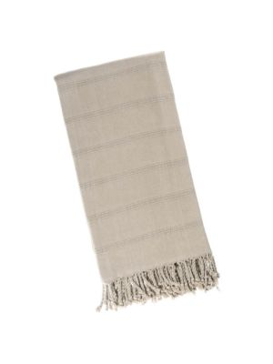 Latte Stonewash Turkish Towel