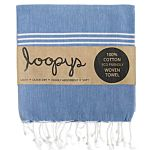 Denim Blue Original Turkish Towel