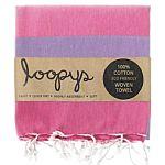 Bubblegum Pink / Lilac Candy Stripe Turkish Towel