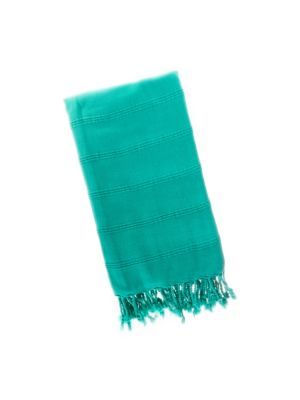 Emerald Green Stonewash Turkish Towel