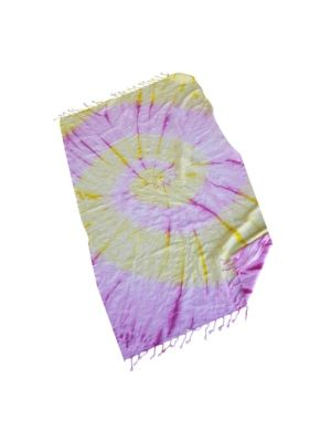 Sunshine Tie Dye Turkish Towel