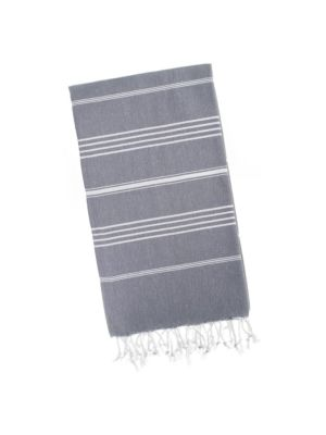 Dolphin Grey Original Turkish Towel